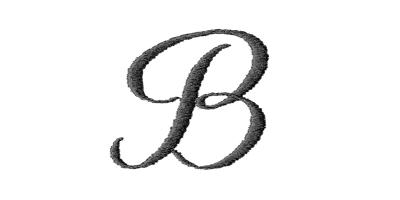 Image of Heirloom monogram style.