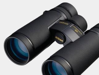 Close-up of binoculars