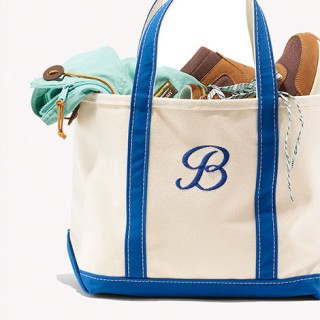 Boat and Tote with itmes