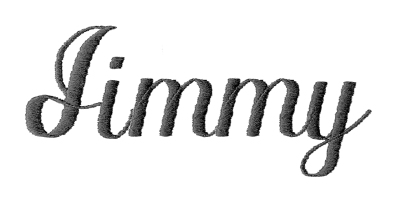 Image of Script monogram style.
