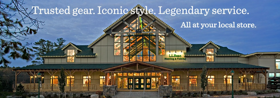 Trusted gear. Iconic style. Legendary service. All at your local store.