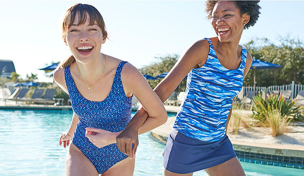 BEANSPORT We designed our best-priced swimwear with thoughtful features – not frills – for the very best performance and value.